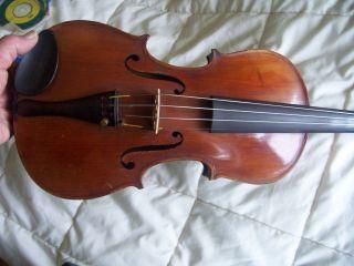 Unlabelled Antique Violin,  Possibly Wurlitzer Distributed photo