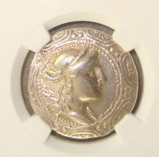167 - 148 Bc Macedon Under Roman Rule Ancient Greek Silver Tetradrachm Ngc Vf photo
