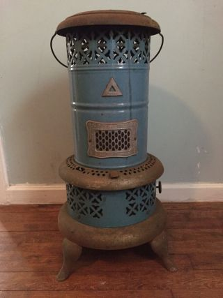 Antique Perfection Heater 620 Parlor Stove Made In Usa photo