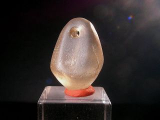 Gorgeous Prehistoric Pendant In Rock Crystal 3500 - 5000 Years Old photo