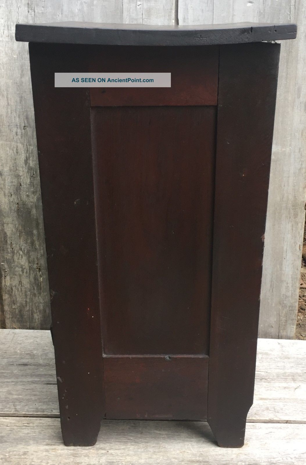 Antique Typesetters Printers Tray Cabinet Table W/ 9 Drawers U0026 Cubby Shelf  1870