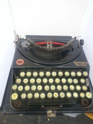 1920 Model 1 Remington Portable Typewriter Vintage Folding Popup Typebar Gatsby photo