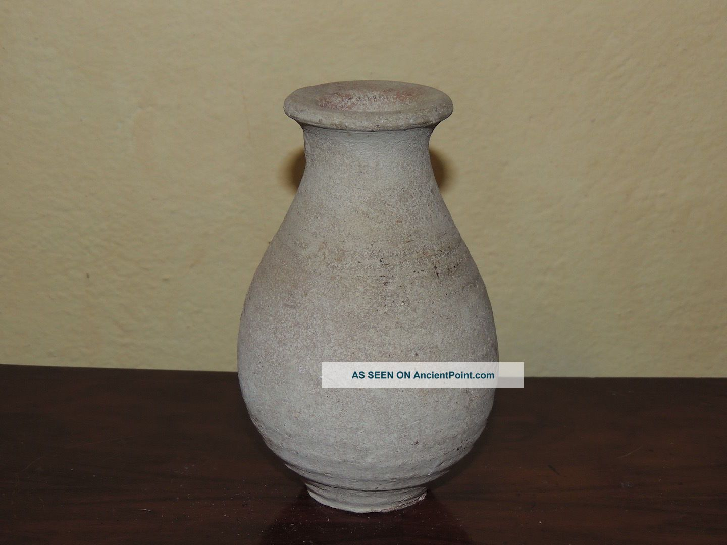 Ancient Medieval Pottery Vase,  17 Century Near Eastern photo