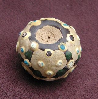 Ancient Chinese Ceramic Bead,  Warring States Period photo