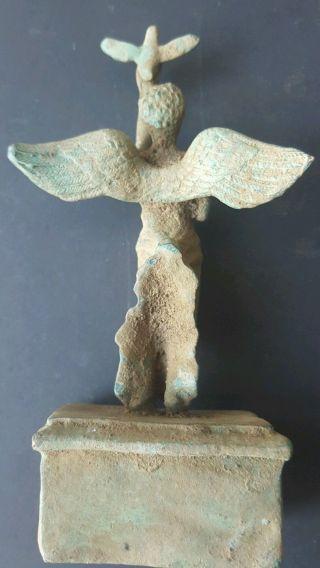 Massive Roman /greek Unreasearched Bronz Female God Statue photo