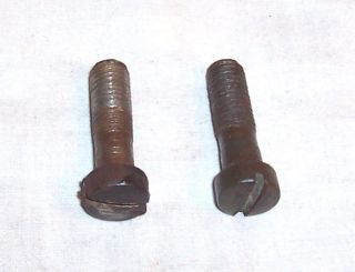 Antique Singer Treadle Sewing Machine Frame Bolts Screws 1900 ' S - 1920 ' S photo