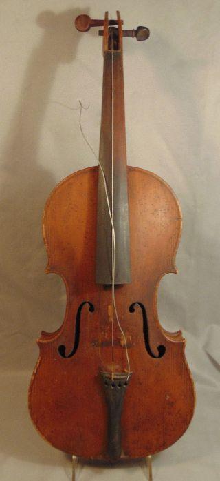 Antique Joh.  Bapt.  Schweitzer 1813 4/4 Violin photo