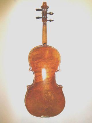 Violin Old Antique Italian Label Carlo - Ii Bergonzi Perfect Sound And Body Cond photo