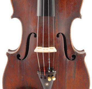 , Rare - Italian,  Antique 4/4 Old School Violin photo
