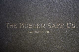Mosler Safe - Fireresistive - photo
