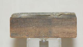 Vintage Printing Wood Block Stamp Metal Plate Standing Horse In Profile photo