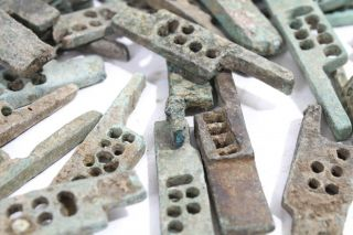 Ancient Greco Roman Bronze Door Lock Bolt Circa 100 To 400ad With photo