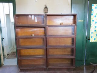 Antique Barrister Bookcases photo