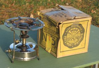 Vintage Primus Camp Stove Mib Rare photo