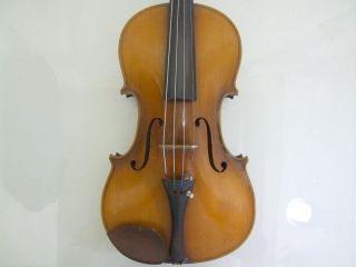 1920s Feine 4/4 Hi Geige Violine Masakichi Suzuki No7 Mij Japan Antique photo