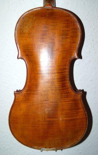 Fine Antique Handmade German 4/4 Violin - Around 100 Years Old photo