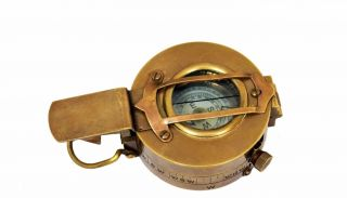 Vintage Nautical Military Ww2 Mark Iii Prismatic Pocketbrass Compass Replica photo