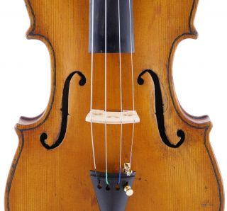 Baptista Gioffredo - Italian,  Antique Labeled 4/4 Old Violin photo