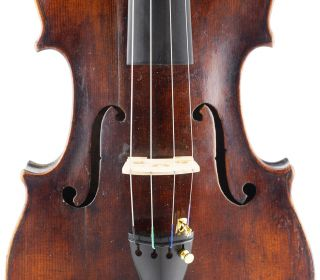, Rare - Charles Neveu,  French,  Antique 4/4 Old Violin photo