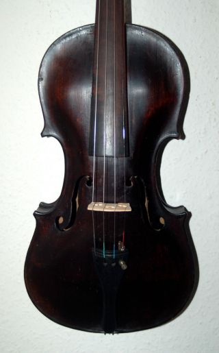 Fine Antique German 4/4 Violin - Stainer Mold - 1900 ' S photo