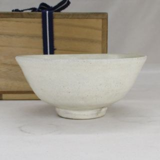 D292: Korean Joseon Dynasty Style Pottery Tea Bowl Of Traditional Kobiki Glaze 2 photo