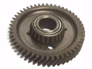 5 - 1/4 Gear Industrial Steampunk Repurpose Steel Sprocket Vintage Pulley Rust L12 photo