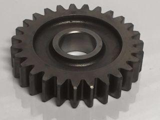 2 - 7/8 Gear Industrial Steampunk Repurpose Steel Sprocket Vintage Pulley Rust L10 photo