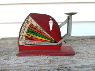Vintage - Jiffy Way Poultry Egg Scale Evaluates Fresh Eggs Country Farm photo