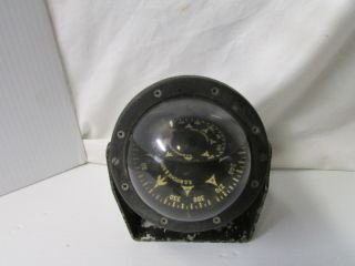 Antique E.  S.  Ritchie And Sons,  Inc Globe Nautical Brass Mounted Compass photo