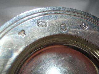 Small 46 Grams Sterling Bowl W/ English Hallmarks On The Front 3 - 1/4