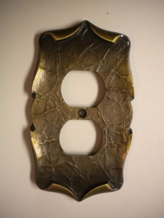 Amerock Carriage House Brass Outlet Cover photo