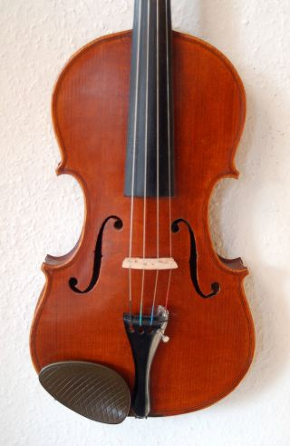 Fine Antique Handmade German 4/4 Violin - Label Antonius Stradiuarius photo