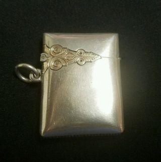 Vintage Sterling Silver Lighter Case photo