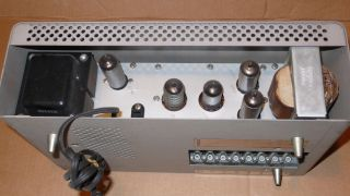 Knight Integrated Tube Amplifer Vintage Complete Phono Tape Mono Valve photo