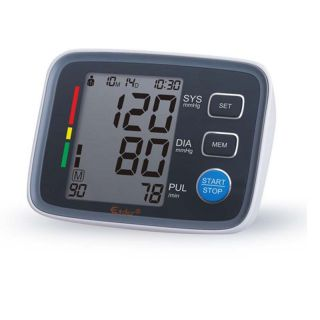 Digital Pulse Upper Arm Bp Blood Pressure Monitors Meter Sphygmomanometer Cuff photo