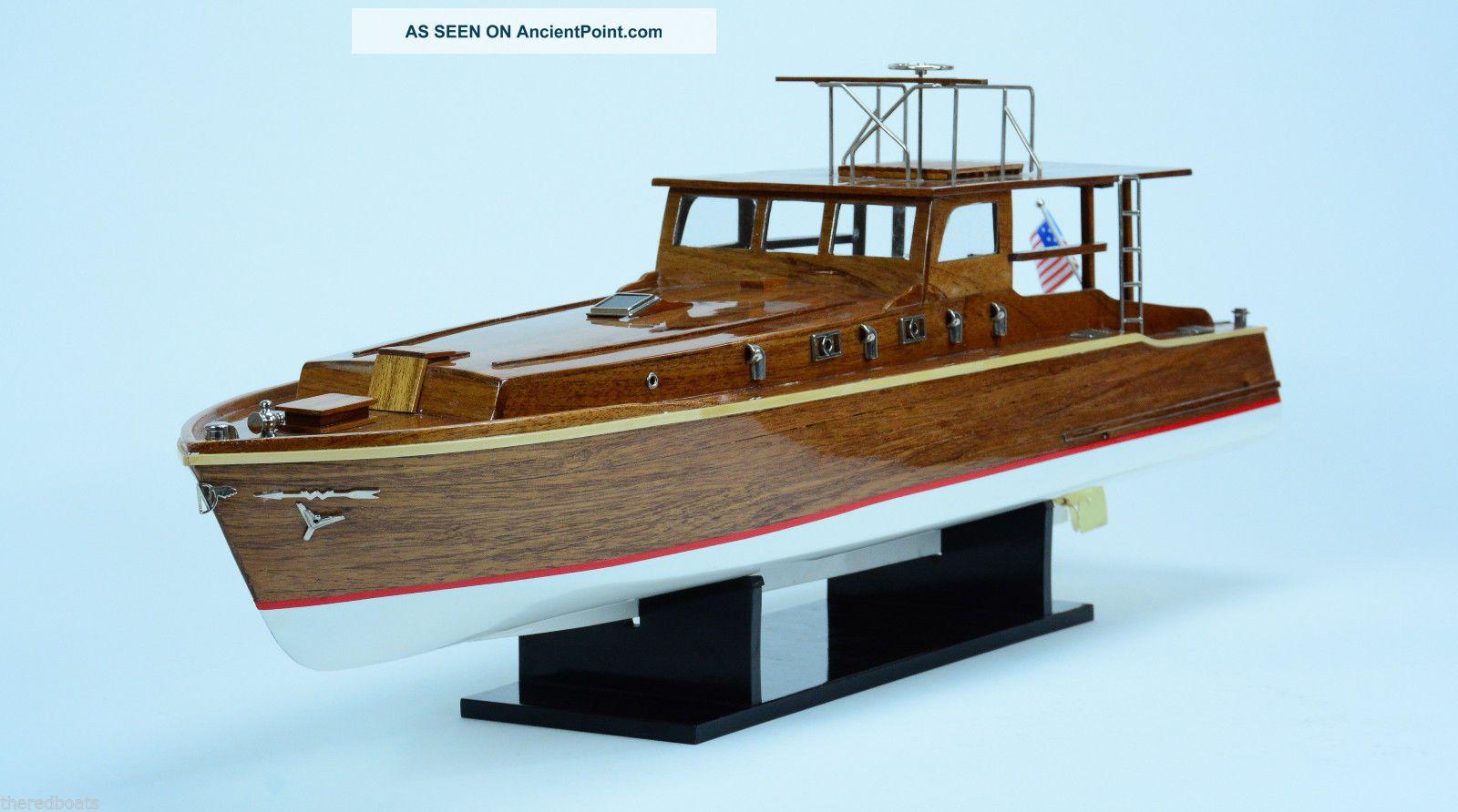 Pilar Ernest Hemingway Fishing Boat 34