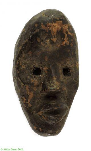 Dan Passport Mask Cote D ' Ivoire African Art photo