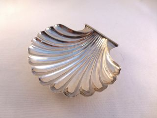 Cartier Sterling Footed Shell Bowl (s) photo