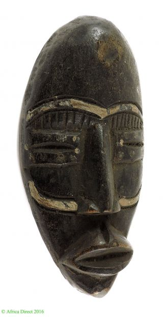 Dan Passport Face Mask Cote D ' Ivoire African Art Was $39 photo