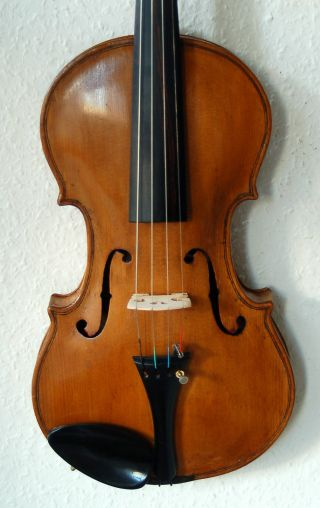 Fine Antique Handmade Czech Bohemian 4/4 Violin From Jan Adamczyk photo