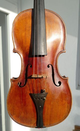 Good Old Violin By Joseph? Hellmer Prague Around 1790, photo