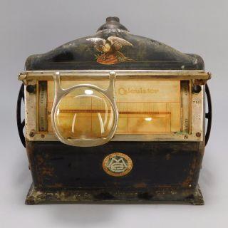 Antique Carl Meilicke Calculator,  Mathematical Calculating Machine,  Ca.  1915 photo