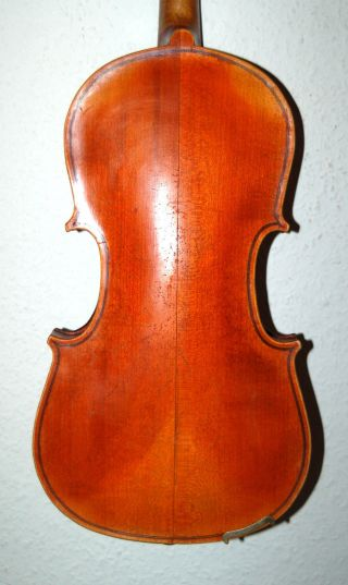 Antique Handmade German 4/4 Fullsize Violin - From Around 1920 photo