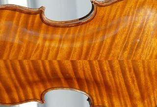 French Violin By Collin - Mezin,  No Cracks photo