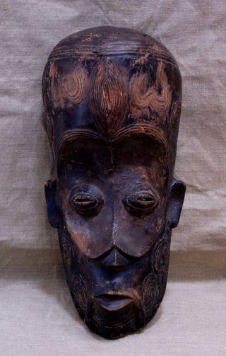 "Bena Lalua Mask 17""x8""x6.  5"" photo"