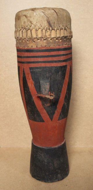 Rwanda Old African Drum Tutsi Ancien Tamtam D ' Afrique Afrika Africa Trommel photo