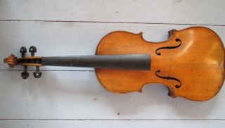 Vintage Italian Violin With ' Nicolaus Amatus Cremona 1633 ' Label - Amati photo