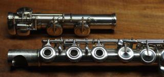 French Vintage Boehm Flute By Djalma Julliot photo