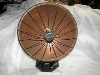Antique Vintage Heatmaster Heater Model 20 - 1018 Copper Cast Iron Infrared Heater photo