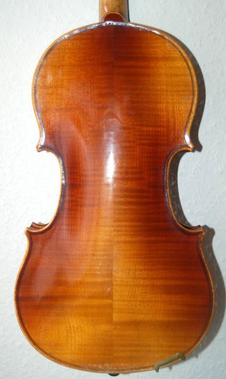 Antique Handmade German 4/4 Violin From Albert Gropp Siebenbrunn - 1920 ' S photo